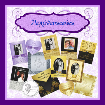 Anniversary Invitations and Invitation Sets